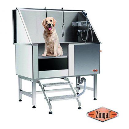 Bañera con escalera linea veterinaria