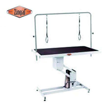 Mesa peluquería elevación hidráulica veterinaria